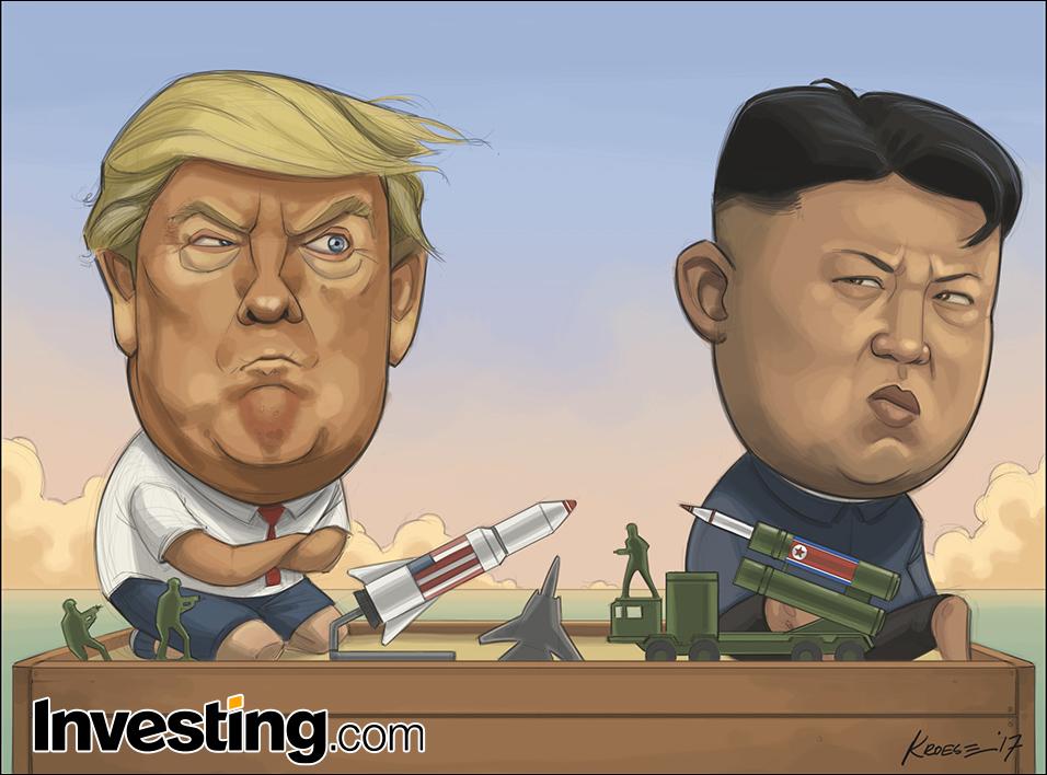 川普三胖继续玩危险的战争游戏