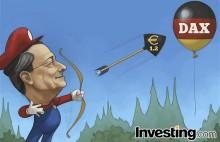 德拉吉促使欧元走高,德国DAX股市泡沫被挤破
