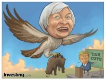 对于耶伦的鹰派作风和特朗普的减税计划,金融市场喜闻乐见