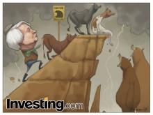 随着耶伦再无力推动市场了,上扬的美国股市终现危机