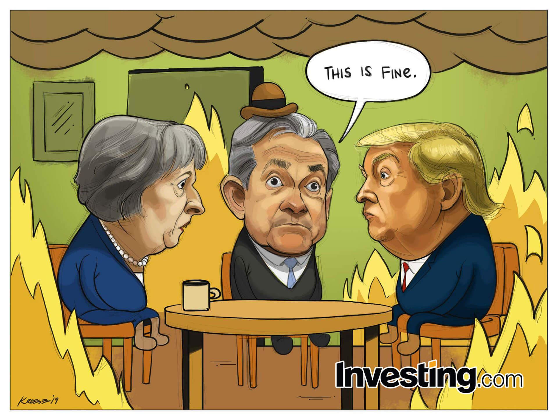 任凭美国政府停摆、英国脱欧风波肆虐 全球股市泰然自若