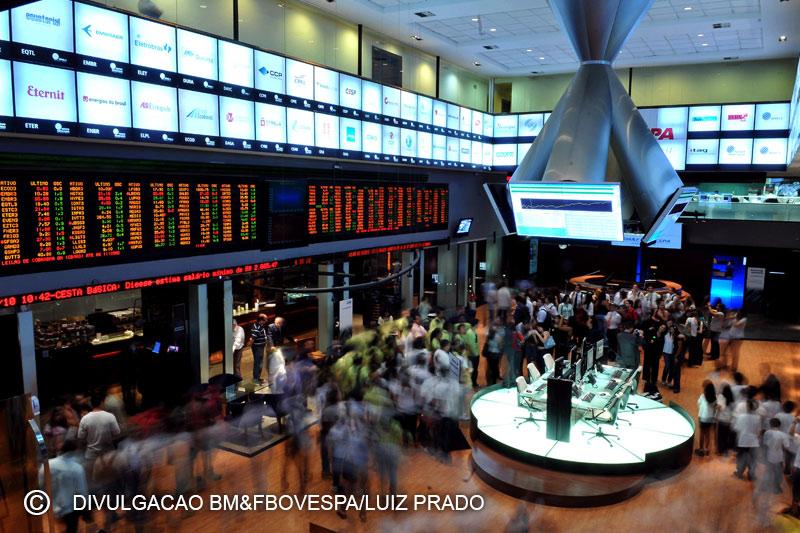 巴西股市上涨;截至收盘巴西IBOVESPA股指上涨1.04%