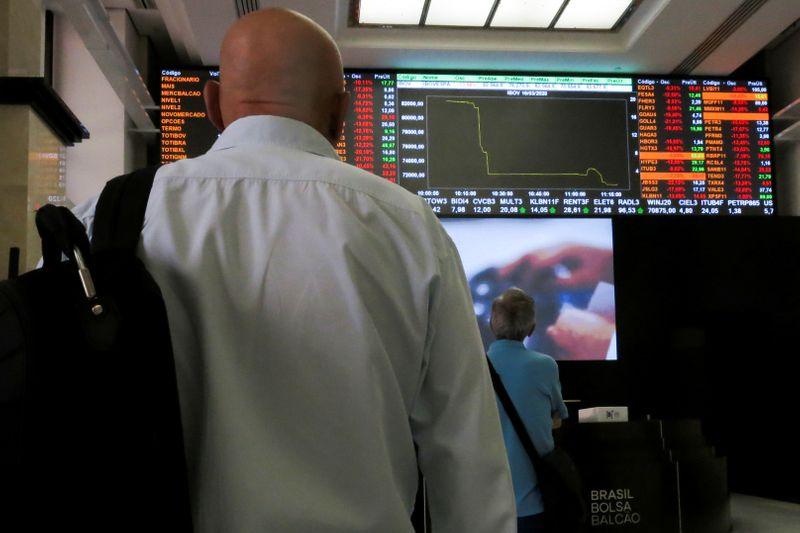 巴西股市收低;截至收盘巴西IBOVESPA股指下跌0.24%
