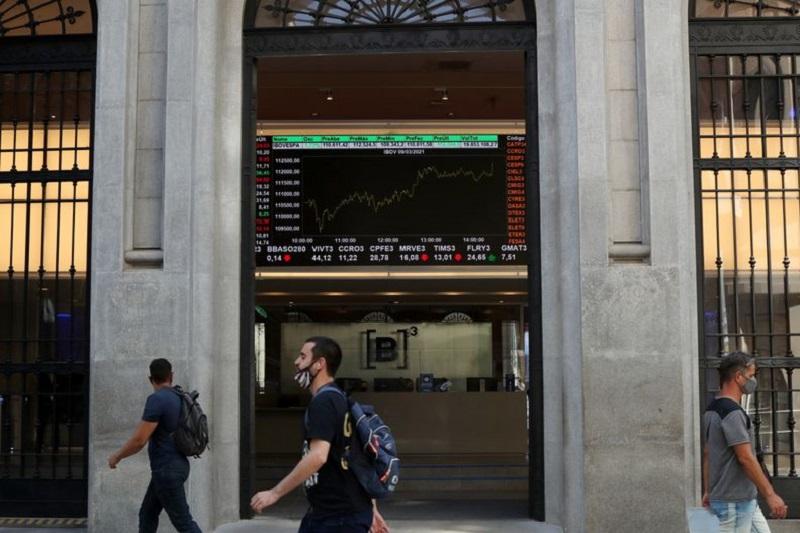 巴西股市上涨;截至收盘巴西IBOVESPA股指上涨0.17%