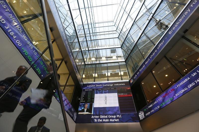 英国股市上涨;截至收盘Investing.com 英国 100上涨0.74%