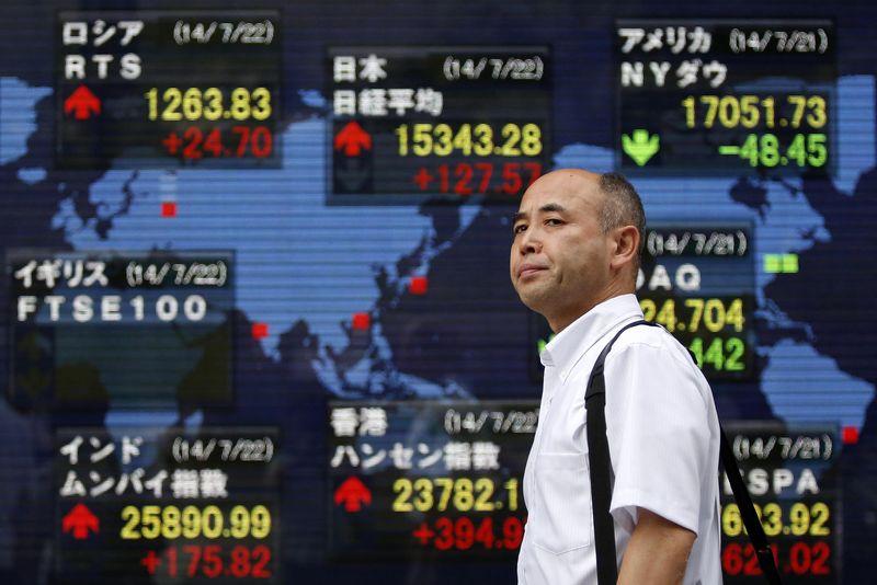 © Reuters.  亚股全线重挫:沪指一度跌超6% 恒指盘中跌逾千点 腾讯收跌近7%