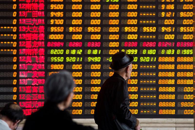 外围股市大跌 沪指一度跌逾1%