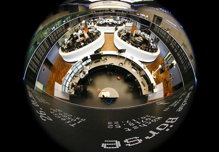 © Reuters.  美国税改为主导,欧洲股市高开