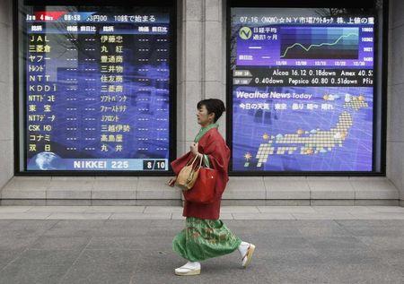 日本股市上涨;截至收盘日经225指数上涨0.09%
