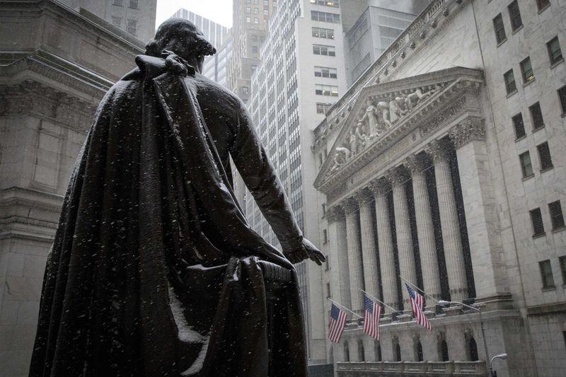 美国股市收低;截至收盘道琼斯工业平均指数下跌0.84%