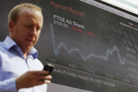 英国股市收低;截至收盘Investing.com 英国 100下跌0.20%
