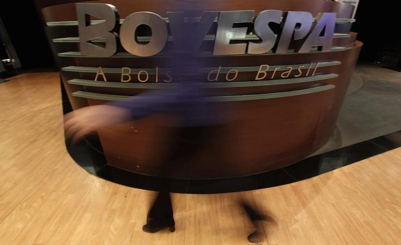 © .  巴西股市收低;截至收盘巴西IBOVESPA股指下跌2.00%