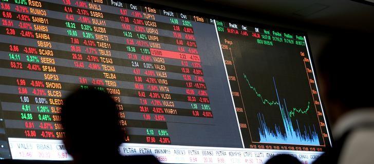 巴西股市收低;截至收盘巴西IBOVESPA股指下跌1.40%