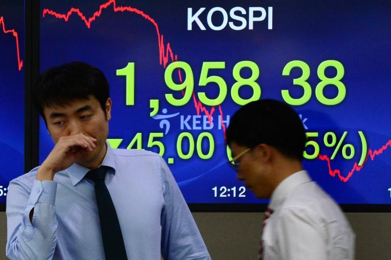 卖空禁令加剧韩国股市泡沫  或遭MSCI新兴市场指数下调权重