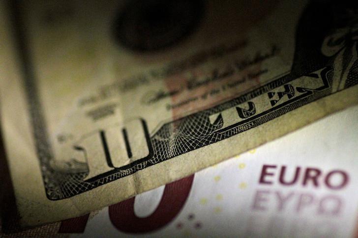 © Reuters.  外汇 - EUR/USD在美国盘口尾盘上升