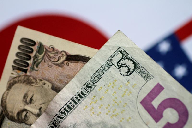 © Reuters.  美元兑日元刷新6个月新高 关注美国CPI和英国脱欧白皮书