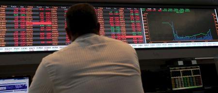 巴西股市收低;截至收盘巴西IBOVESPA股指下跌1.21%