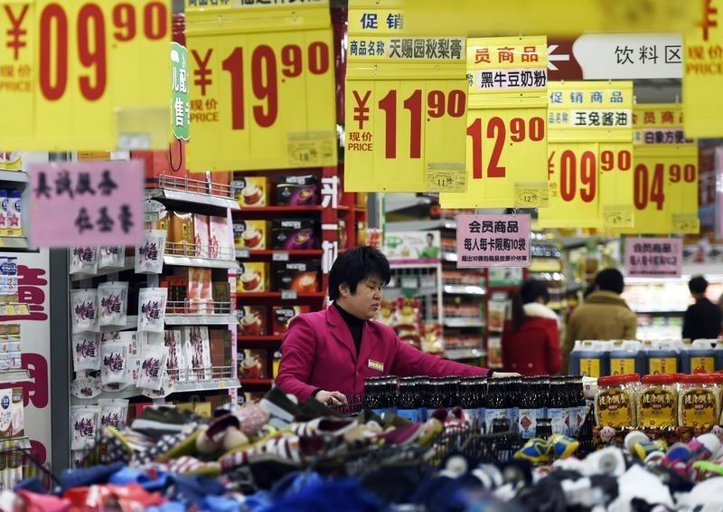 © Reuters.  国家统计局公布12月中国CPI和PPI数据 双双不及预期