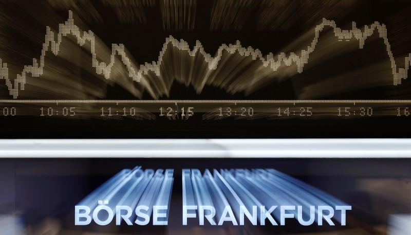 德国股市收低;截至收盘DAX 30下跌0.80%