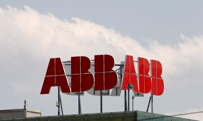 瑞士电气设备制造商ABB经营利润下降21% 周四启动股票回购计划
