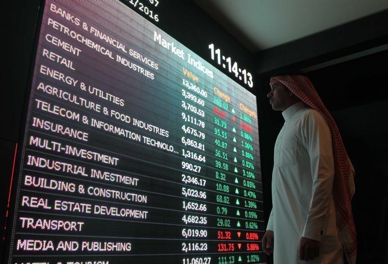 沙特阿拉伯股市上涨;截至收盘沙特阿拉伯TASI指数上涨0.92%