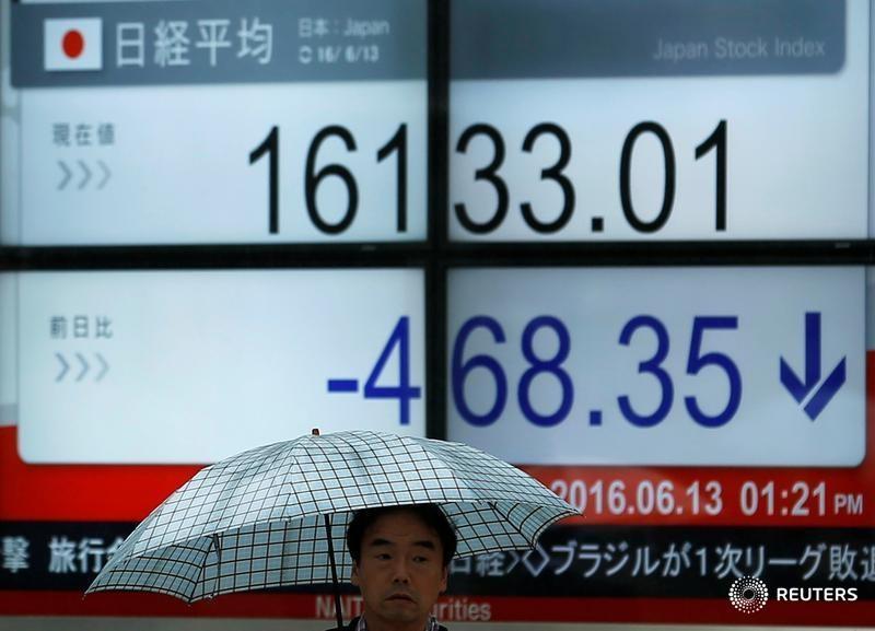 亚股普遍重挫:沪指逆势微涨 日经指数跌近4% 美团市值重返3000亿港元