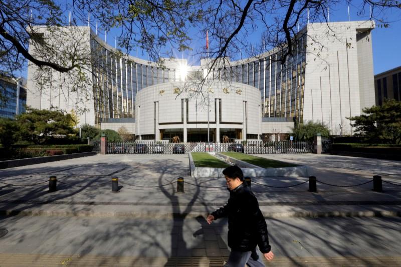 © Reuters.央行:优惠利率贷款正在快速发放 贷款利率基本在2%-3.15%之间