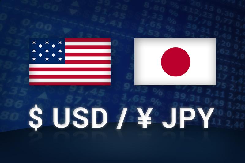 外汇 - USD/JPY在美国盘口尾盘下跌