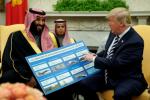 特朗普撇清与沙特经济利益关系,暗示对沙特制裁将开启?