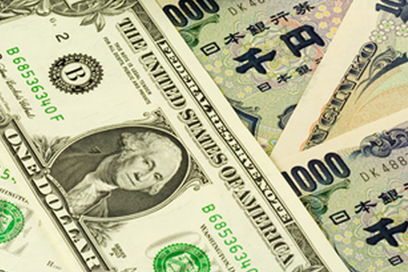 外汇 - USD/JPY在亚洲盘口下跌